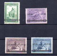 Meulemans surcharg�s, 114 / 117**, cote 100 �,