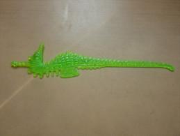 """Touilleur """"hippocampe"""" (vert Jaune) Type 2 - Swizzle Sticks"""