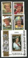 Reine Elisabeth II . Année 1996.  Un BF + Série 4 T-p Neufs **.  Côte 13,00 € - Samoa