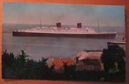"Cherbourg Le Grand Paquebot ""Queen Elisabeth"" N°115A - Cherbourg"