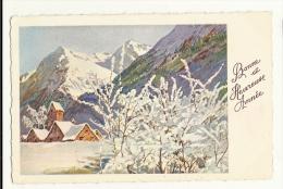Cp, Nouvel An, Bonne Et Heureuse Année, écrite 1946 - Año Nuevo