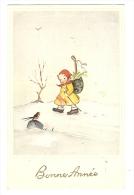 Cp, Nouvel An, Bonne Année, écrite 1945 - Año Nuevo