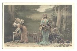 Cp, Femme, Voyagée 1908 - Women