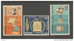 PAKISTAN MNH (**) STAMPS (MAJOR EXPORTS OFPAKISTAN-1967) - Pakistan