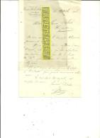 62 - Pas-de-calais - CORBEHEM - Facture LEVE-DELMOTTE – 1908 - REF 61 - 1900 – 1949