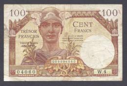 100 FRANCS TRESOR FRANCAIS 1947 W - 1947 Trésor Français