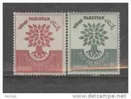 PAKISTAN MNH(**) STAMPS (WORLD REFUGEE YEAR - 1960) - Pakistan