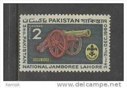 PAKISTAN MNH(**) STAMPS (3RD BOY SCOUT NATIONAL JAMBOREE LAHORE.- 1960) - Pakistan