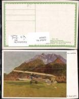 329059,Künstler Ak K. Hayd Der Aufstieg Aeroplan Aviatik WW1 Pub Kriegsfürsorge 503 - Guerre 1914-18