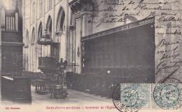 SAINT PIERRE SUR DIVES  INTERIEUR DE L'EGLISE(dil60) - Churches & Cathedrals