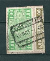 Fragment Met Stempel LIMERLE N°1 - 1923-1941
