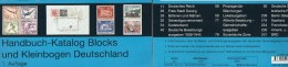 Michel Deutschland Hanbuch Blocks 2013 New 70€ Handbook With Special Bloc Sheetlet Se-tenant Errors Catalogue Of Germany - Collections
