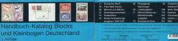 Michel Deutschland Hanbuch Blocks 2013 New 70€ Handbook With Special Bloc Sheetlet Se-tenant Errors Catalogue Of Germany - Collezioni