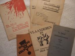 Vlaanderen – Gent, Brugge, Ijzer En Diksmuide,… - OE 1905 1932 1936 - Zeldzaam - Belgique