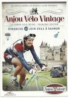 CPM Anjou Vélo Vintage , La Rando Vélo Rétro, 1ère édition 19 Juin 2011, Carte Com Conseil Général De Maine Et Loire - Radsport