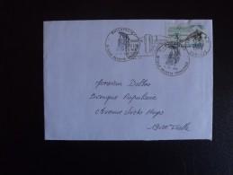 Franc Enveloppe De 1988 De Tulle, Roland Garros Cachet Philatélique - Marcofilie (Brieven)