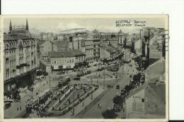 BGD42  ---  BEOGRAD  --   TERAZIJE   --  1936  --   TRAM, TRAMWAY, STRASSENBAHN - Serbia