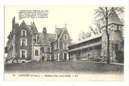 Cp, 37, Amboise, Châtau Clos Lucé, Sud, écrite 1932 - Amboise