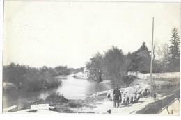 Montfrin  ,les Bords Du Gardon ,carte Photo - France