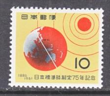 Japan  732   *  SCIENCE  SUN  EARTH - 1926-89 Emperor Hirohito (Showa Era)