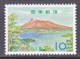 Japan  734   *   PARKS - Unused Stamps