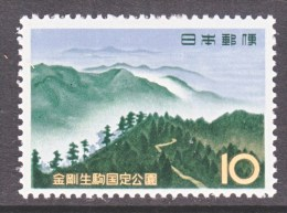 Japan  759   *   PARKS - Unused Stamps