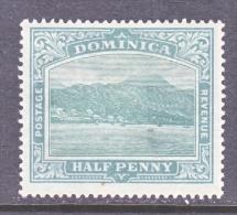 DOMINICA  25   *  Wmk 1  CC - Dominica (...-1978)
