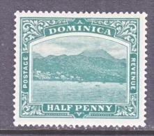 DOMINICA  35   *    Wmk 3  Multi  CA - Dominica (...-1978)