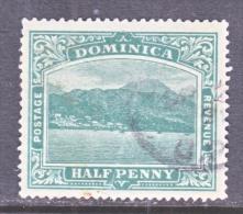 DOMINICA  35   (o)    Wmk 3  Multi  CA - Dominica (...-1978)