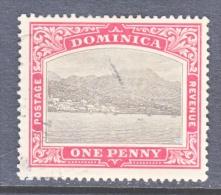 DOMINICA  36   (o)    Wmk 3  Multi  CA - Dominica (...-1978)