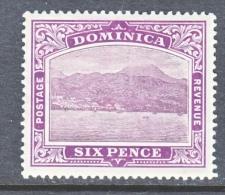 DOMINICA  42   *    Wmk 3  Multi  CA - Dominica (...-1978)