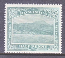 DOMINICA  50   *    Wmk 3  Multi  CA - Dominica (...-1978)