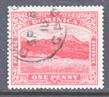 DOMINICA  51   (o)    Wmk 3  Multi  CA - Dominica (...-1978)