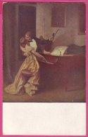 "PC1791 Rene Prinet's Picture ""Kreutzer Sonata"" (after Tolstoy/Beethoven). - Muziek En Musicus"