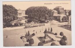 WIESBADEN - KURHAUS UND HOFTHEATER MIT TRAMWAY - Wiesbaden