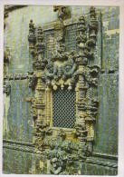 CPM TOMAR, JANELA DO CONVENTO DE CRISTO(voir Timbre) - Portugal