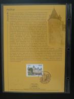 Feuillet CEF Chateau De Josselin Castle Morbihan 2008 - FDC