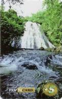 MICRONESIA - Remote Memory 5$ Card , Waterfall, Used - Micronesia