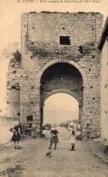 CLUNY-PORTE ROMANE DE ST MAYEUL-BE - Cluny