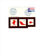 Enveloppe 1er Jour Parfait état 1965. Bateau Reine Amélia. Carte Des Iles Wallis Et Futuna - Covers & Documents