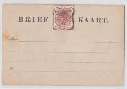 South Africa - Afrique Du Sud - Entier Postal Orange Free State - Vrij Oranje Staat Half Penny - Brief Kaart Post Card - Stato Libero Dell'Orange (1868-1909)