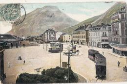38 - Grenoble - Place De La Gare Et Le Saint-Eynard - TB - Grenoble