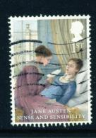 GREAT BRITAIN  -  2013  Jane Austen  1st  Used As Scan - 1952-.... (Elizabeth II)