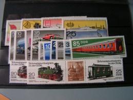 == DDR Lot  Verkehr - Unused Stamps