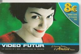 CARTE-VIDEO FUTUR-8€-AMELIE POULAIN-TBE - - Frankrijk