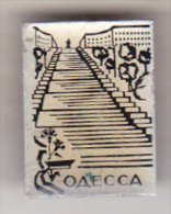USSR Ukraina Old Pin Badge  - Cities - Odessa - Cities