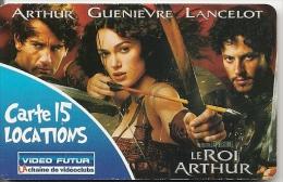 CARTE-VIDEO FUTUR-15 LOCATIONS-LE ROI ARTHUR-TBE -