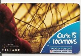 CARTE-VIDEO FUTUR-15 LOCATIONS-VILLAGE-TBE - - Frankrijk
