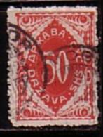 SLOVENIA / SLOVENIE - 1919 - T.Taxe - Emission De Lubliana - Litografie - 50h  Obl. - Slovenia