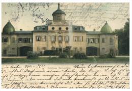 (PH 555) Very Old Postcard - Carte Ancienne - Germany - Schloss Belvedere Castle - Châteaux